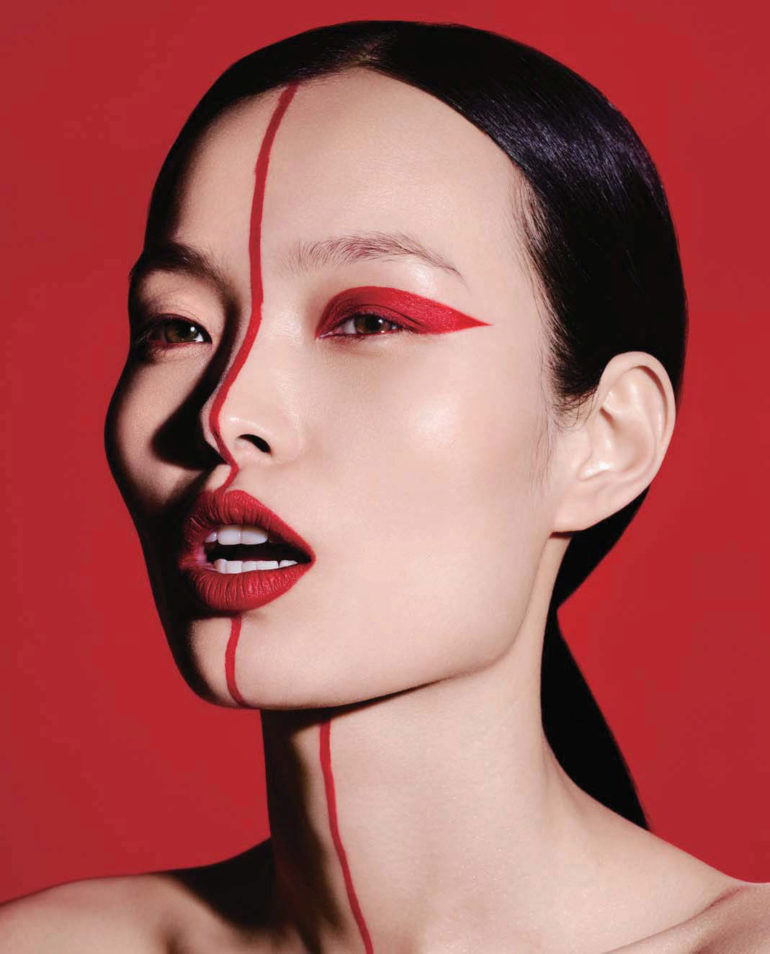 Ling Liu by Ben Hassett for Vogue China September 2017 6