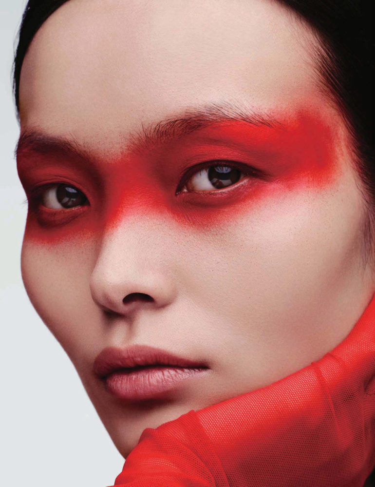 Ling Liu by Ben Hassett for Vogue China September 2017