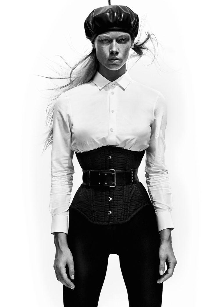 Duckie Thot, Hannah Ferguson by Mario Testino for V Magazine #109 30