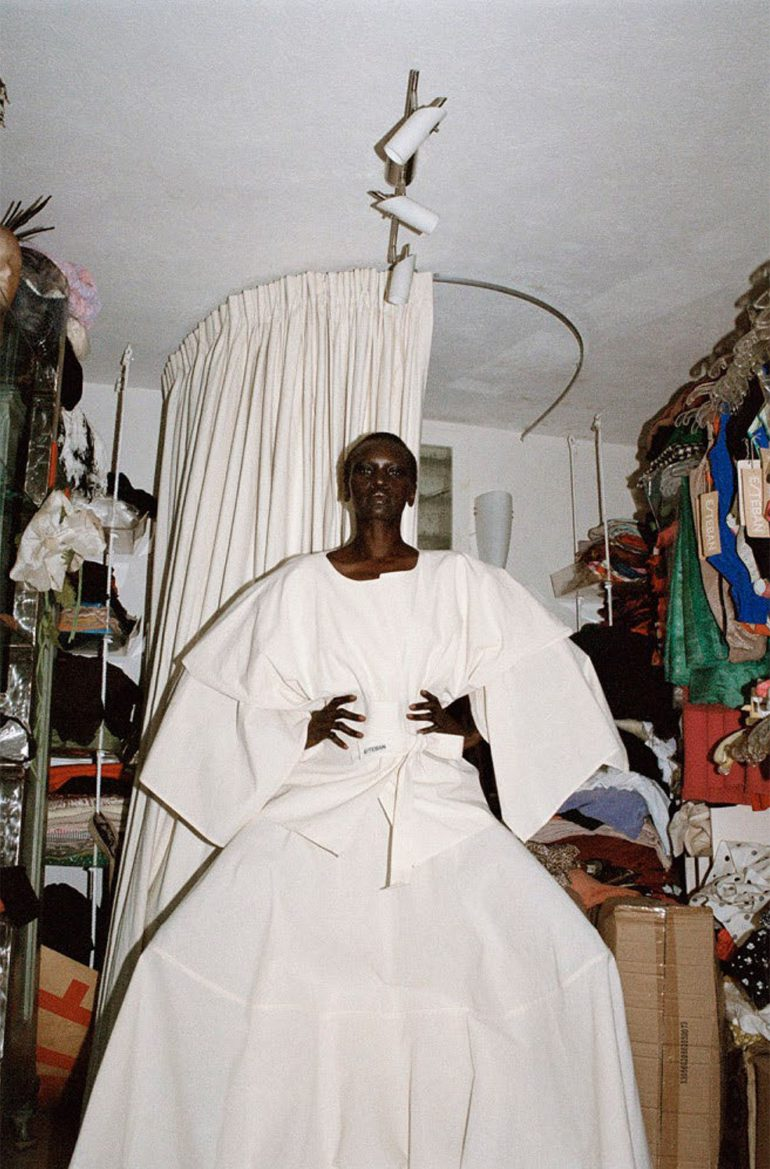Alek Wek by Talia Chetrit for Re-Edition No.8 AW 2017 12