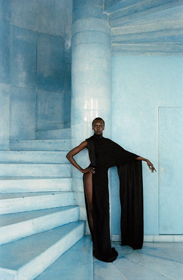 Alek Wek by Talia Chetrit for Re-Edition No.8 AW 2017 17