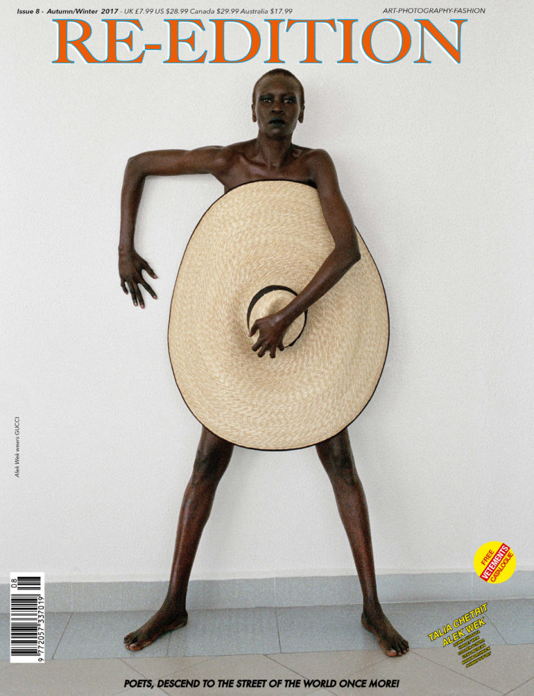 Alek Wek by Talia Chetrit for Re-Edition No.8 AW 2017 2