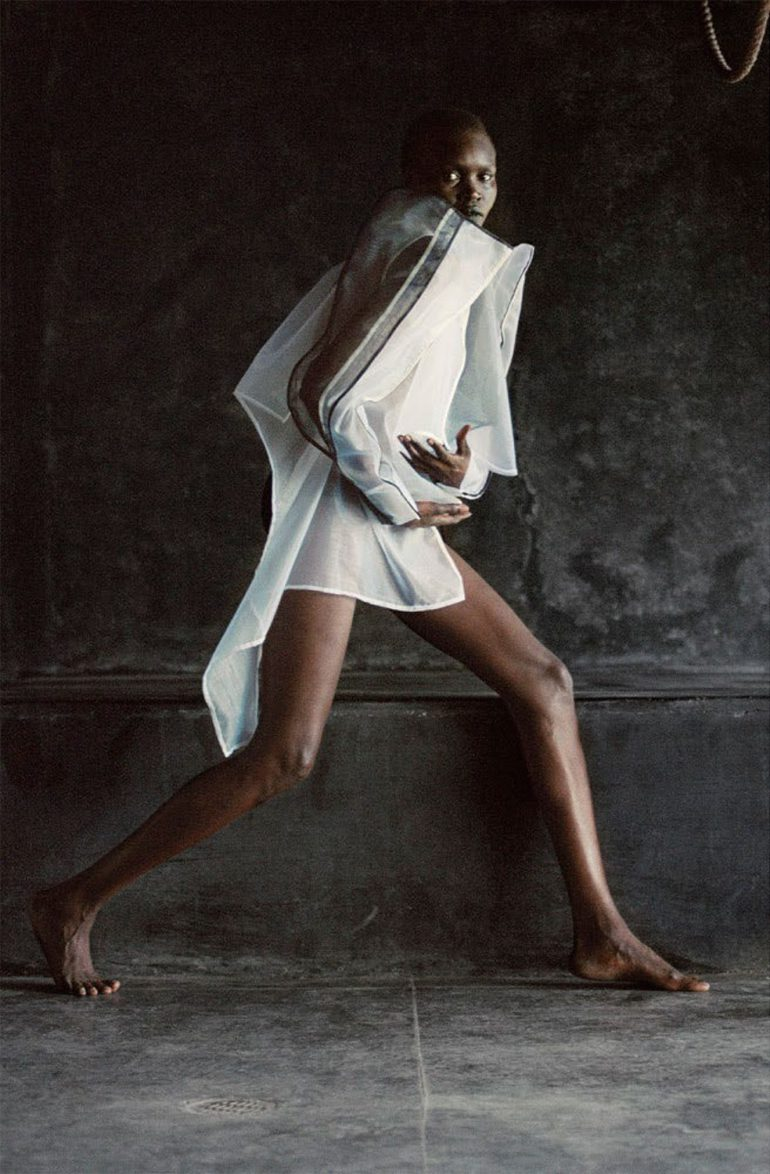 Alek Wek by Talia Chetrit for Re-Edition No.8 AW 2017 43
