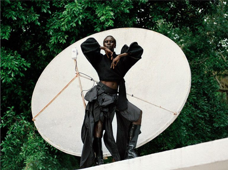 Alek Wek by Talia Chetrit for Re-Edition No.8 AW 2017 67