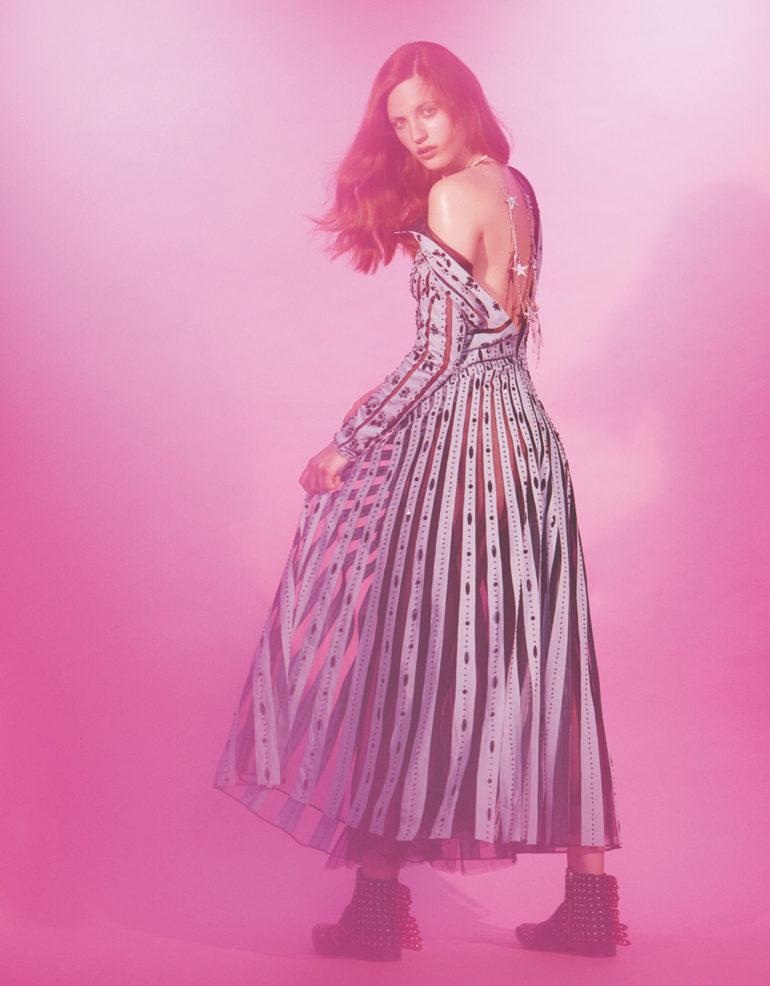 Julia Banas 'Pop Like a Star' by Zoey Grossman for Numero Tokyo FW 2017 14