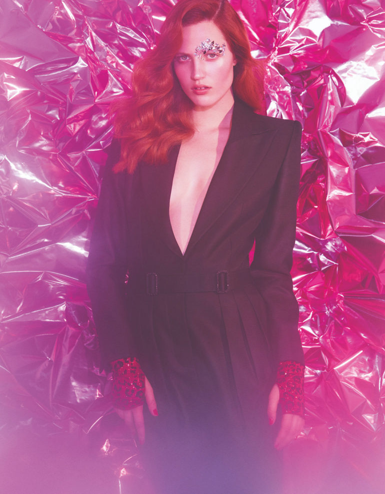 Julia Banas 'Pop Like a Star' by Zoey Grossman for Numero Tokyo FW 2017 6