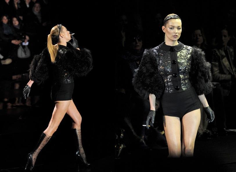 kate moss louis vuitton show. Kate Moss Rocked the Catwalk