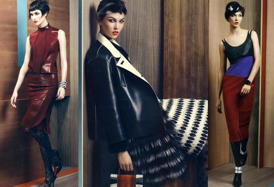 Karlie Kloss August Vogue 2011